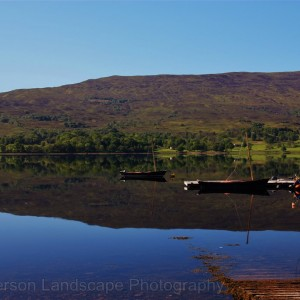 Sailboat on Loch Eil